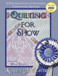 Here is Karen's book - Quilting for Show