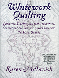 Whitework Quilting book cover.