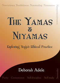 The Yamas & Niyamas book cover.